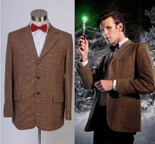 Who is Doctor Dr. Eleventh 11th Doctor Jacket Suit Costume Version A Men Clothes For Halloween