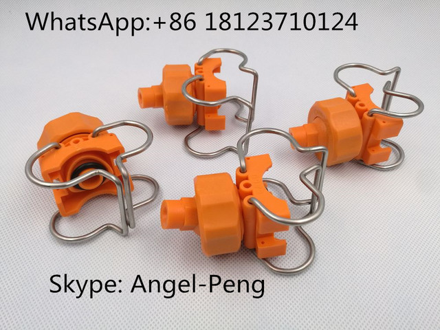 Adjustable Spray Nozzle Manufacturers Mail: High Quality Adjustable Ball Double Clamp Clip Quick