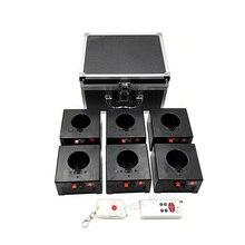 D06 двойной пульт дистанционного управления беспроводной 6 cues приемник сценическое свадебное оборудование Фейерверк Фонтан база машина
