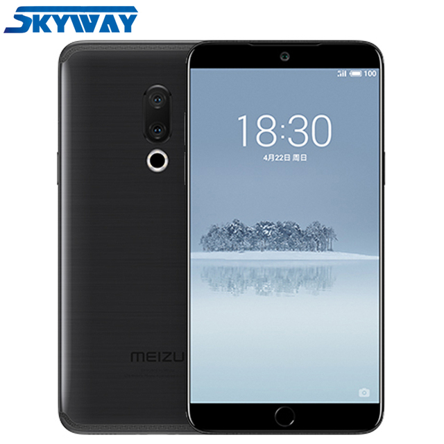 "Original Meizu 15 4G LTE 4GB 64GB/128GB Snapdragon 660 Octa Core 5.46"" 1920x1080P Screen Fingerprint ID Fast charger Smart Phone"