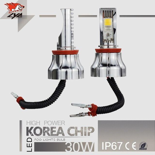 1 Pair LYC Led h11 Easy Install Fog Light 9006 Led Headlight Led ...