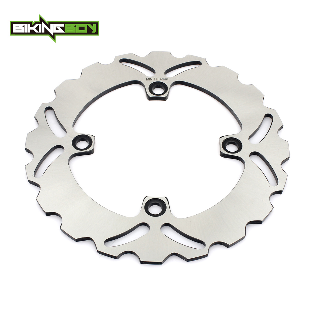 BIKINGBOY Rear Brake Disc Rotor For NX 650 Dominator CB 250 F Hornet CB 400 89