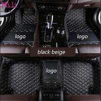 Custom logo car floor mats Automobile carpet for jeep grand cherokee renegade cherokee patriot Commander Wrangler compass