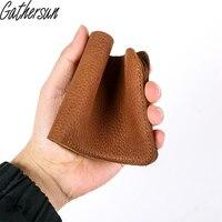 Handmade 100 High Quality Wallet Genuine Leather Bank Card Holder Credit Card Case Slim Card Case