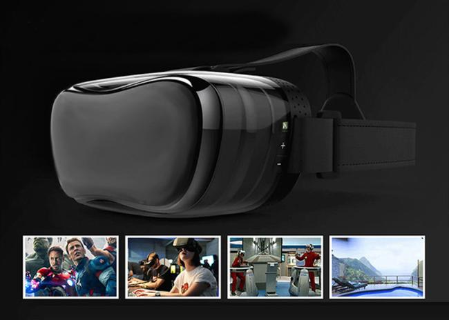 1080P HD Virtual Reality 3D Glasses Octa-Core Android 4.4 2+8GB VR Headset Box 360 degree Head Tracking IMAX for PC Game 1