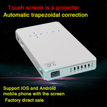 Smart Wireless Touch Screen Projector Portable Wifi Project Android Bluetooth Support DLNA HDMI for smartphone Beamer