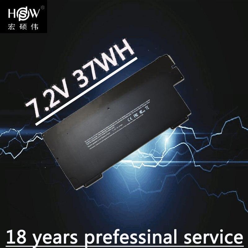 A HSW 37WH 7.2V bateria do portátil para apple 661-4587 A1237 A1245 para MacBook Air 13