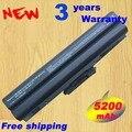 5200 mAh preto bateria para Sony BPS13 / B VGP VGP-BPS13 / B BPS13 / Q VGP-BPS13B / B VGP-BPS13A / B
