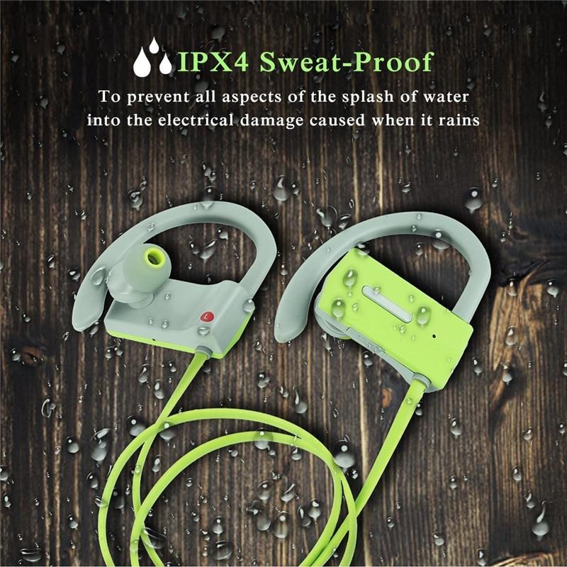M & J Sports Wireless Bluetooth 4.1 Headphone Ear Hook Hifi Stereo - Audio dan video mudah alih - Foto 5