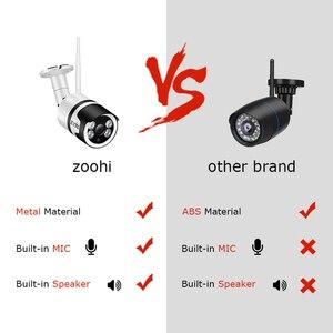 Image 2 - Zoohi 1080P HD IP Camera Surveillance Wireless Camera CCTV WIFI Camera Security Camera APP Control Night Vision Two Way Audio