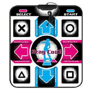 Pads Dance-Mat Arcade To Step USB PC No Video Non-Slip