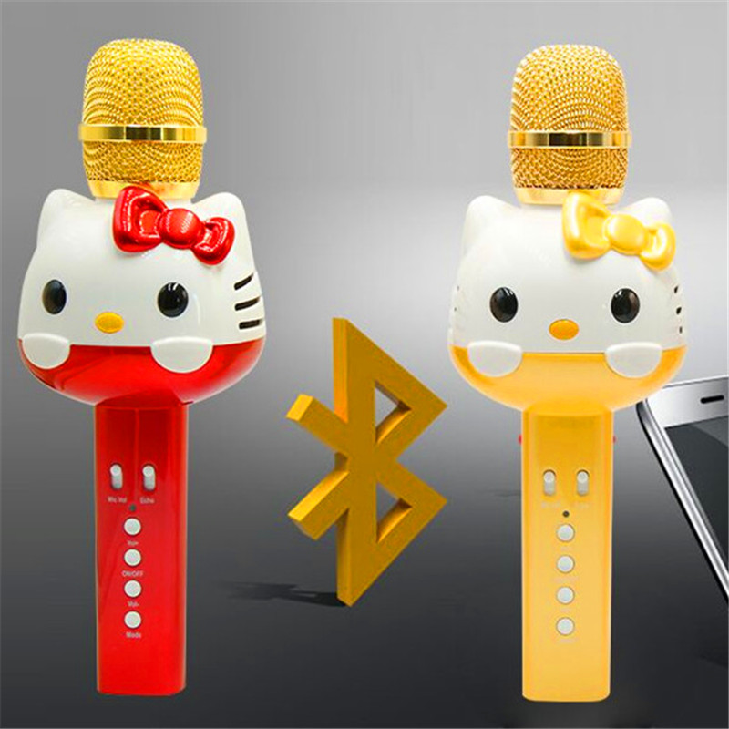 Bingsentec U63 Cute Cartoon Cat Hello Kitty Bluetooth -4451