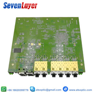 Image 4 - EPON OLT 4PON puertos FTTH CATV OLT portador de fibra óptica de alta densidad de alta calidad 1,25G profesional mini
