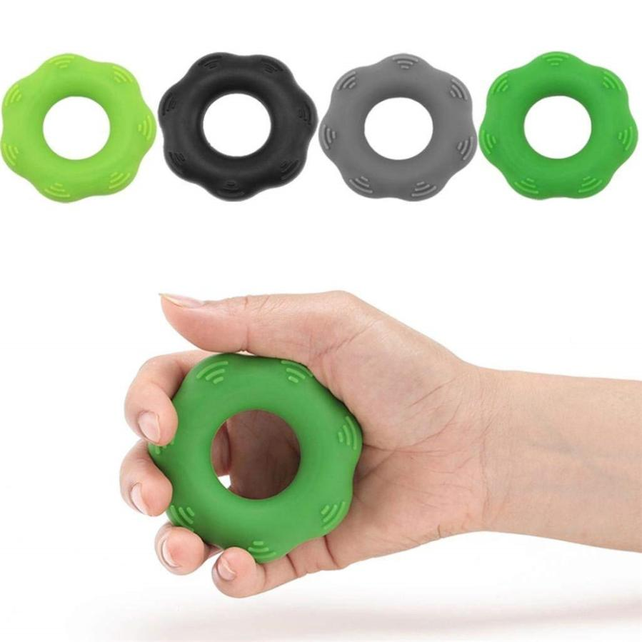 Silicone Hand Grip Ring Strength Training Arm Finger Exerciser Non-slip Convenient To Use Drop Shipping 0815