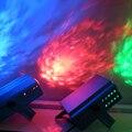 Пульт дистанционного управления  3 Вт  RGB светодиодный сценический эффект  новая водяная рябь  профессиональное освещение для вечеринок  LED ...