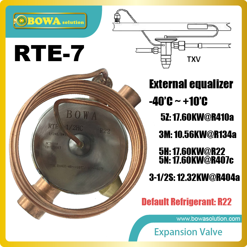 RTE-7 thermostatic expansion valve TEV reduces the chances of the breakdown of the compressor due to compression of the liquid. merci палантин