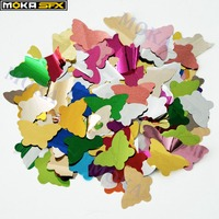 5KG/bag Mixed color Confetti Paper for confetti machine , heart star butterfly flower Paper For Rainbow Machine