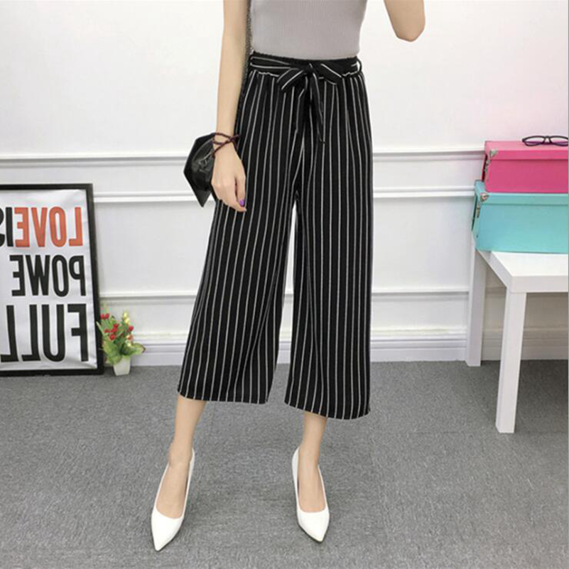 New Woman Summer Multi-color optional Cotton Casual pants for Women