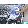 Blue Car Styling Sponge Microfiber Washer Towel Duster For Cleaning & Detailing, Wahing Brushes