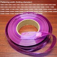 1 KG 150 มม.แบตเตอรี่ลิเธียม PVC ความร้อน shrinkable แขนเปลี่ยนแบตเตอรี่ผิวด้านนอก DIY พิเศษหดฉนวนฟิล์ม