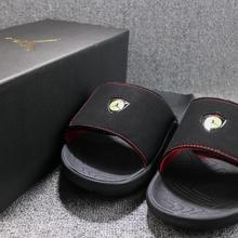 528465ced7fe2e JORDAN Hydro 7 Slides XIV 14 Men s Size 8 NEW Slippers Sandals Ferrari (China)