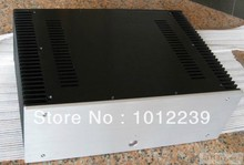 New aluminum amp chassis /home audio amplifier case size 430mm X314mm X150 mm