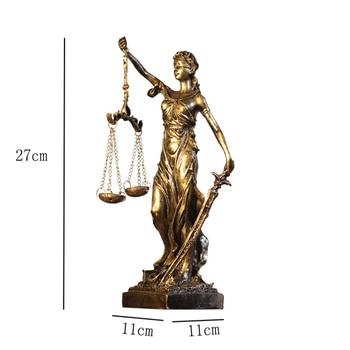 Escultura Antigua Diosa De La Feria, Escultura De Resina Vintage Europea, Estatua Artesanal, Oficina, Escritorio, Decoración, Figurita, Ángel