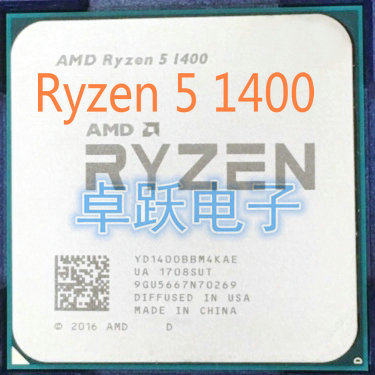 US $56 26 |AMD Ryzen 5 1400 3 2 GHz Quad Core CPU Processor Socket AM4 free  shipping-in CPUs from Computer & Office on Aliexpress com | Alibaba Group