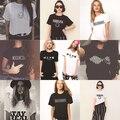 Promoção da Mulher T-shirt Arctic Monkeys Nirvana Smiley Emoji Carta Impressão Do Logotipo T-shirt Mulher Tshirt Das Mulheres Meninas Harajuku Barato