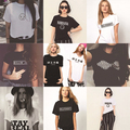 Promotion Women T-shirt Nirvana Arctic Monkeys Smiley Emoji Letter Logo Print T-shirt Woman Womens Tshirt Girls Harajuku Cheap