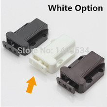 Size 56*40*16mm White ABS Plastic magnetic touch bead super suction Elastic Beetle Style