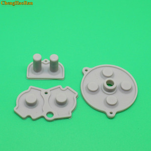 Image 2 - 30 100 setleri yeni GBA için kauçuk İletken yapıştırıcı düğmeler pad oyun Boy klasik GBA silikon başlangıç seçin tuş takımı