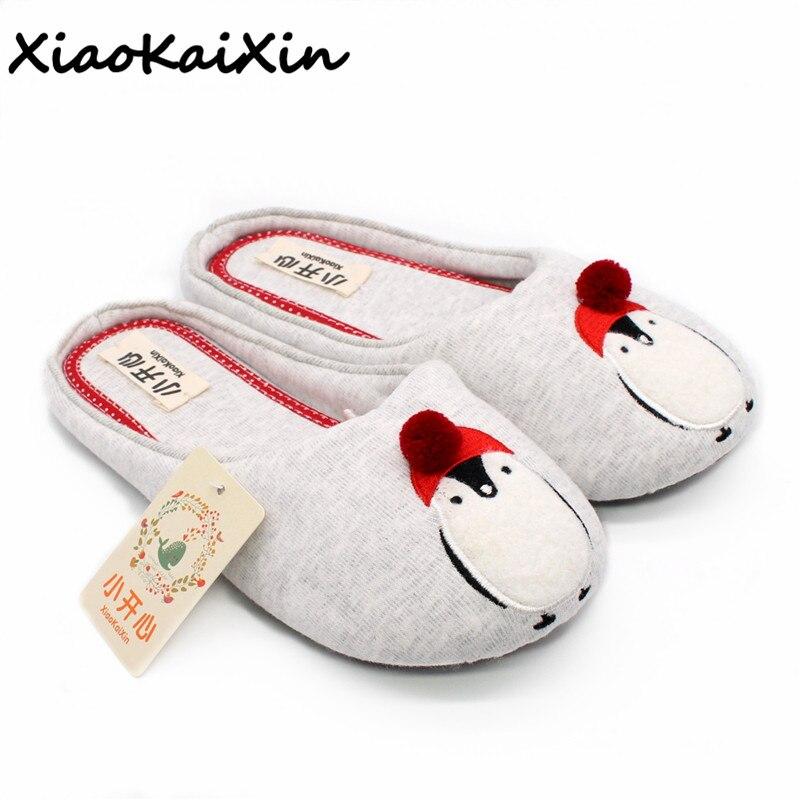 521fc4a92db95 Click here to Buy Now!! Mignon Pingouin Modèle Animal Maison Pantoufles  Femmes Chaussures D