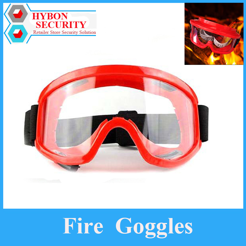 1Pcs Protective Eyes Goggles Anti-Scratch Safety Fire Protection Security Fire Goggles Safety Glasses For Work