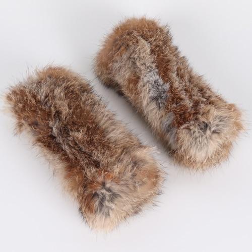 Real Rex Rabbit Fur Gloves...