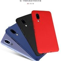 Soft Cover Case For Sharp Aquos S2 Case Back Coque Luxury PC Plastic Matte Soft Cover