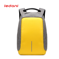 Male Creative USB Charge Anti Theft Backpack New Oxford Backpack Fashion Casual Computer Bag