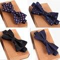 20 цвет дизайнер галстуки мужчины способа высокого качества 2017 человек рубашка аксессуары темно-галстук-бабочка для свадьбы мужчины оптовая бабочкой