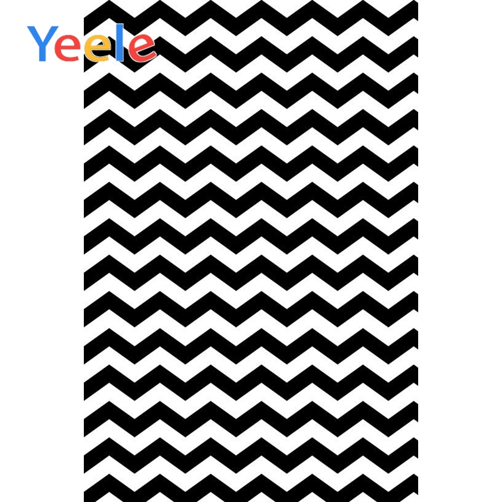 Yeele Waves Stripe Chevrons Professional Photography Backgrounds Clothes Baby Customized Photographic Backdrops For Photo Studio