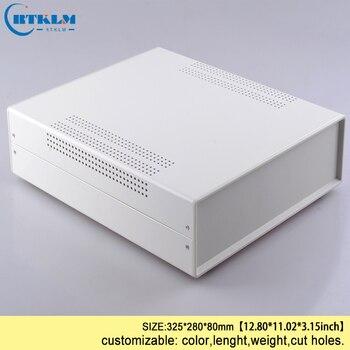 Железный блок питания, корпус электрического соединителя diy, коробка для подключения провода, железный корпус для проекта, корпус инструмен...