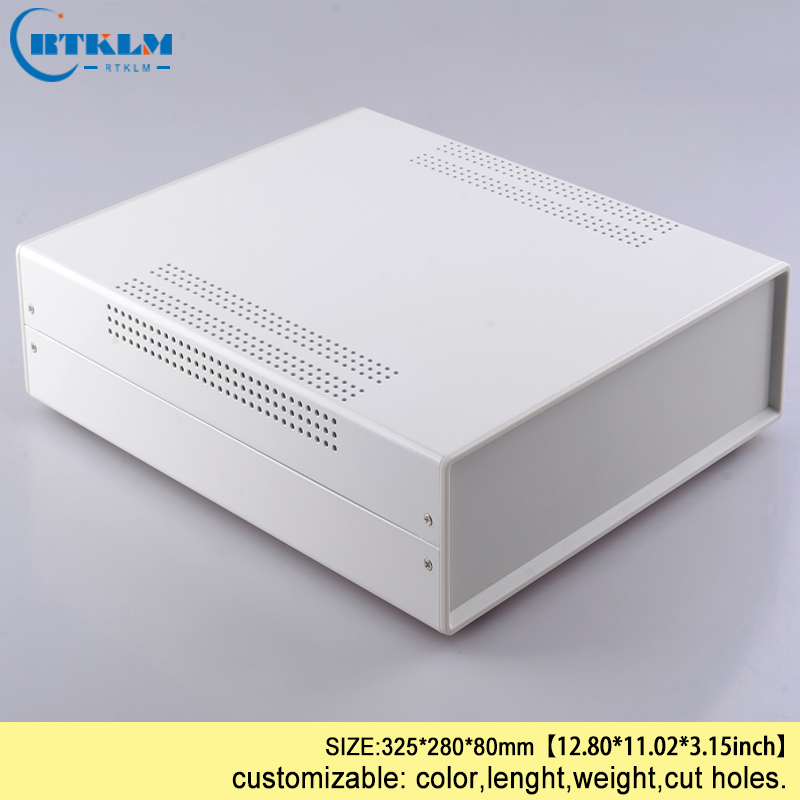 цена на Iron Power supply box electrical connector enclosure diy wire connection box iron project enclosure instrument case 325*280*80mm