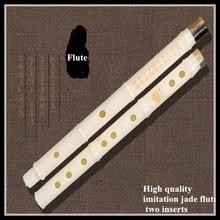 Китайская флейта имитация нефрита одна вставка dizi высокое качество никогда не трескается flauta