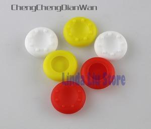 Image 2 - ChengChengDianWan Silicone Ngón Cái Tay Cầm Nắp Bao Da Cần Điều Khiển Cầm Mũ Lưỡi Trai PS4 1000 cái/lốc
