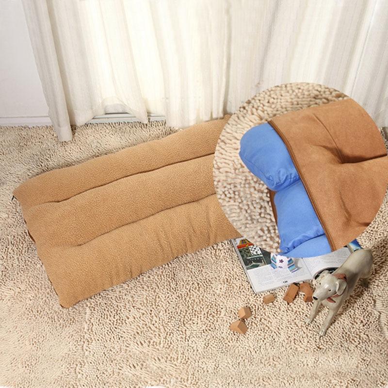 Naturelife Large Dog Mattress Mat Soft Warm Pet Bed Cushion With