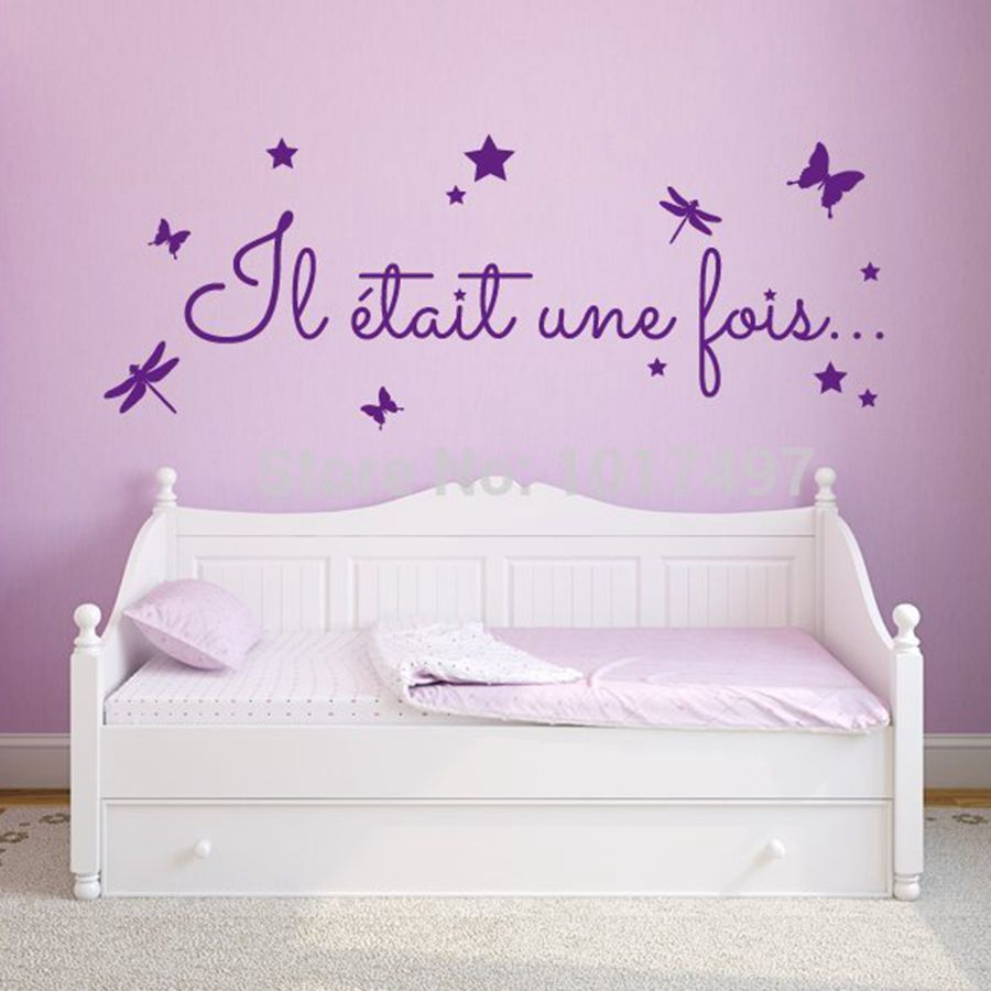 Cute french baby girl room decoration free shipping for Girls room wall decor