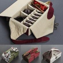 XMT-HOME, ручная работа, льняная ткань, сумка для хранения чая, чайный чайник, набор чашек, тканевая сумка с принтом, портативные дорожные плотные пакеты, 1 шт