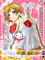 Anime Love Live Koizumi Hanayo Alice Labrador Night costume Da Cameriera Uniforme Costume Cosplay