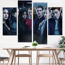 canvas poster riverdale painting movie & calligraphy camera instant print decorative pictures wall art HD