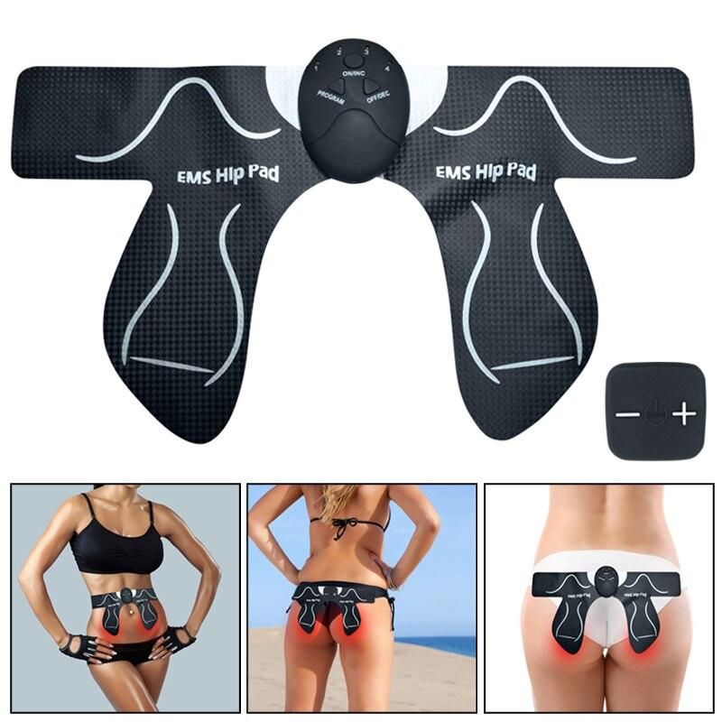 Hip Waist Trainer Buttocks Muscle Stimulation Battery/Rechargeable Butt Lift Up Body Shape Massager ASD88