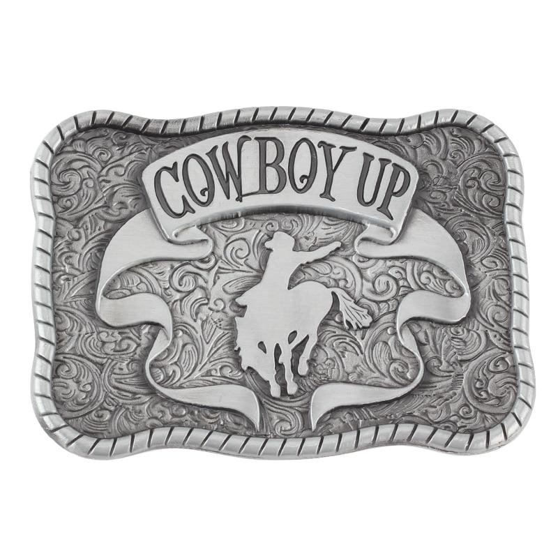 Cowboy Up Belt Buckle Alloy Belt Accessories